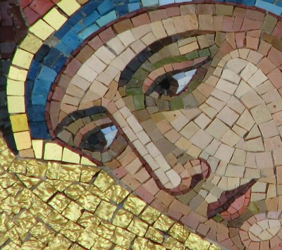 Annunciation mosaic