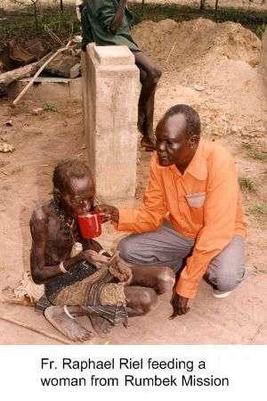 Christian corporal work of mercy in Rumbek