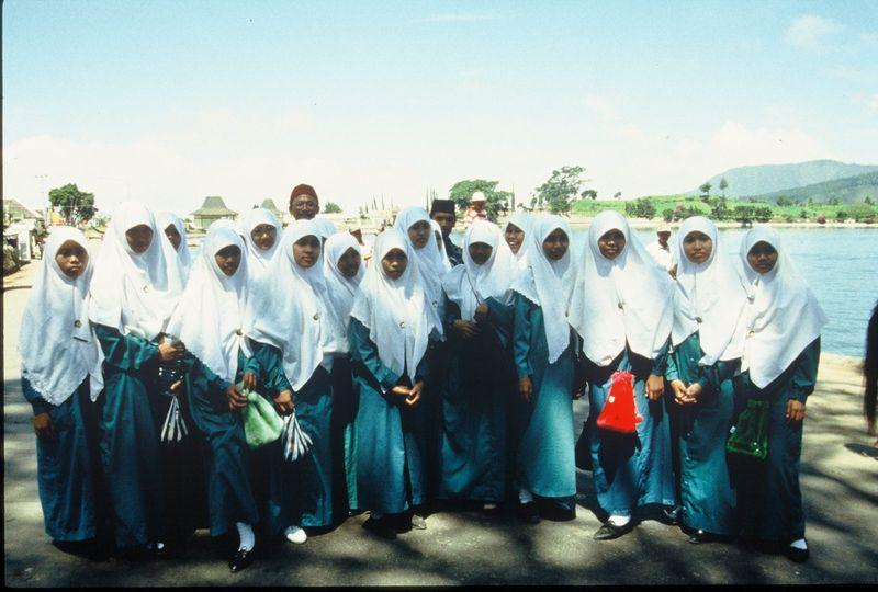 Christians in jilbab